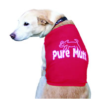 Pure Mutt Dog Tank Red